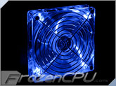 Lian Li 120mm x 25mm LED Fan - Blue (1500RPM / 25.4dBA) (CF-1215A)