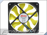 Akasa 120mm x 25mm Viper PWM Fan w/ Hydro Dynamic Bearings (AK-FN059)