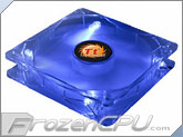 Thermaltake Thunderblade Super Silent 80mm x 25mm LED Case Fan - Blue (AF0029)