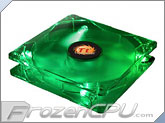 Thermaltake Thunderblade Super Silent 80mm x 25mm LED Case Fan - Green (AF0028)