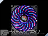 Enermax T.B. Vegas Duo 80mm x 25mm Dual LED Fan w/ Focus Blades - Blue / Red (UCTVD8A)