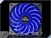 Enermax T.B. Apollish 140mm x 25mm LED Fan w/ Focus Blades - Blue (UCTA14N-BL)