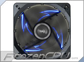 "Enermax T.B. Silence 120mm x 25mm ""Twister Bearing"" LED Fan - Blue LEDs (UCTB12N-BL)"