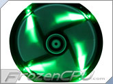 BitFenix Spectre LED 230mm Fan - Green (BFF-BLF-23030G-RP)