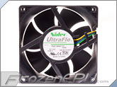 Nidec UltraFlo 92 x 38mm High Speed Dell Replacement PWM Fan - (T92E12BMA7-07)