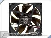 Noiseblocker NB-BlackSilentPro PE-1 92mm x 25mm Ultra Quiet Fan - 1300 RPM - 14 dBA