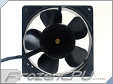 Mechatronics 120x120x38mm Low Speed AC fan w/36 inch Cord - (UF12A12-BTL)