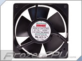 "Mechatronics 120x120x38mm High Speed and Extreme Temperature AC Fan w/ 36"" Power Cord (UF12AM12-BTHR-F)"
