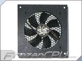 CabCool 1201 Single 120mm Cabinet Cooling Kit w/ Thermal Control