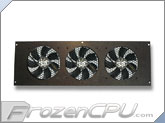 CabCool 1203 Triple 120mm Cabinet Cooling Kit w/ Thermal Control