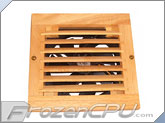 CabCool 1201 Single 120mm Wood Grill Cabinet Cooling Kit w/ Thermal Control