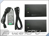 CabCool Power Supply (2A) w/ Dual Pre-set Thermal Controllers Kit (On at 88F, Off at 81F)