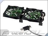 Evercool Xbox 360 Slim Dual 80mm Cooling Fan Kit (TG-XB2)