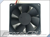 Evercool 80mm X 25mm 5 Volt Fan - (EC8025M05CA)
