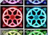 RGB LED SilverStone 120mm Fan Grill