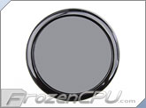 DEMCiflex 160mm Magnetic Dust / Fan Filter - Round - Black - (Steel / Aluminum / Plastic Chassis)