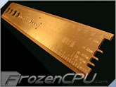 MNPCTech PC Modder Ruler & Gauge - 10 Year Anniversary Solid Copper Edition! WOW!