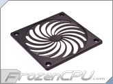 MNPCTech CNC Machined 120mm Billet Aluminum Fan Grill - Turbo - Black