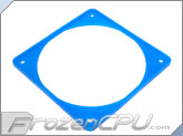 ModRight Ninja Vibration Silencer 120mm Fan Gasket w/ Lip - UV Blue