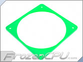 ModRight Ninja Vibration Silencer 120mm Fan Gasket w/ Lip - UV Green