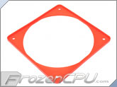 ModRight Ninja Vibration Silencer 120mm Fan Gasket w/ Lip - Real Red