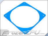 ModRight Ninja Vibration Silencer 140mm Fan Gasket w/ Lip - UV Blue