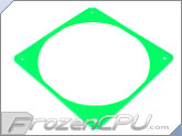ModRight Ninja Vibration Silencer 140mm Fan Gasket w/ Lip - UV Green