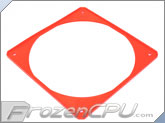 ModRight Ninja Vibration Silencer 140mm Fan Gasket w/ Lip - Real Red