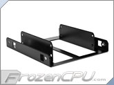 LD Cooling Little Devil Dual SSD Adapter Bracket - Black Powder Coat (SSD-D-B)