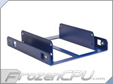 LD Cooling Little Devil Dual SSD Adapter Bracket - Blue Powder Coat (SSD-D-BL)