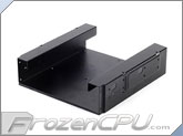 "Silverstone SDP10B 5.25"" bay to 1x 3.5"" HDD and 2x 2.5"" HDD/SSD Adapter - Black"