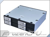 "Akasa Lokstor M22 5.25"" Bay Internal Quad 2.5"" HDD & SSD Hot-Swap Combo Rack (AK-IEN-02)"