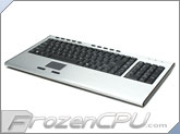 AVS Gear 2.4Ghz Aluminum Wireless Touchpad & Keyboard (S-KW415TG)