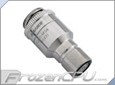 Koolance QD2 Quick Disconnect No-Spill Coupling Male, Threaded G 1/4 BSPP (QD2-MG4)
