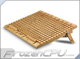 Deep Cool N2600 Eco-Friendly Bamboo Laptop Cooling Pad w/ Dual 140mm Fans