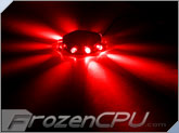 FrozenCPU RingPuk 10 LED Lighting Module - Red