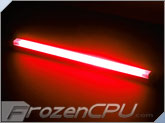 "Logisys 12"" Inverterless True-Color CCFL Light Bar - Frontal 180� Lighting - <font color=red>True Red</font>"