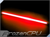 "Logisys 20"" Inverterless True-Color CCFL Light Bar - Frontal 180� Lighting - <font color=red>True Red</font>"