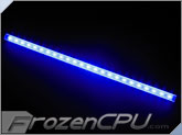 "Logisys 16"" Corner LED Light Bar - 12V - Blue (LCX16BL)"