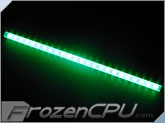 "Logisys 16"" Corner LED Light Bar - 12V - Green (LCX16GN)"