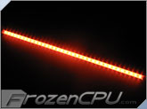 "Logisys 24"" Corner LED Light Bar - 12V - Red (LCX24RD)"