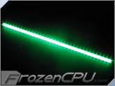 "Logisys 24"" Corner LED Light Bar - 12V - Green (LCX24GN)"