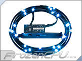 NZXT Premium Sleeved Bright LED Kit - 2 Meter - Blue (CB-LED20-BU)