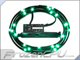 NZXT Premium Sleeved Bright LED Kit - 1 Meter - Green (CB-LED10-GR)