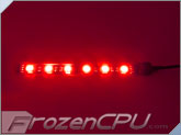 BitFenix Alchemy Connect™ 6 LED Light Strip - 120mm - Red (BFA-ACL-12RK6-RP)