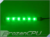 BitFenix Alchemy Connect™ 6 LED Light Strip - 120mm - Green (BFA-ACL-12GK6-RP)