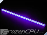 "Logisys 16"" Corner LED Light Bar - 12V - UV (LCX16UV)"