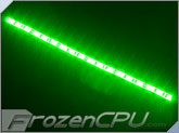 Akust USB Powered 18 Count LED Strip - Green (ZO04-0004-AKS)