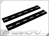 FrozenCPU.com HDD Noise Isolation Strips - Black