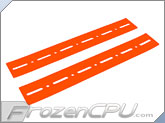 FrozenCPU.com HDD Noise Isolation Strips - UV Red